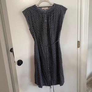 Loft shirt dress with tie waist nwot